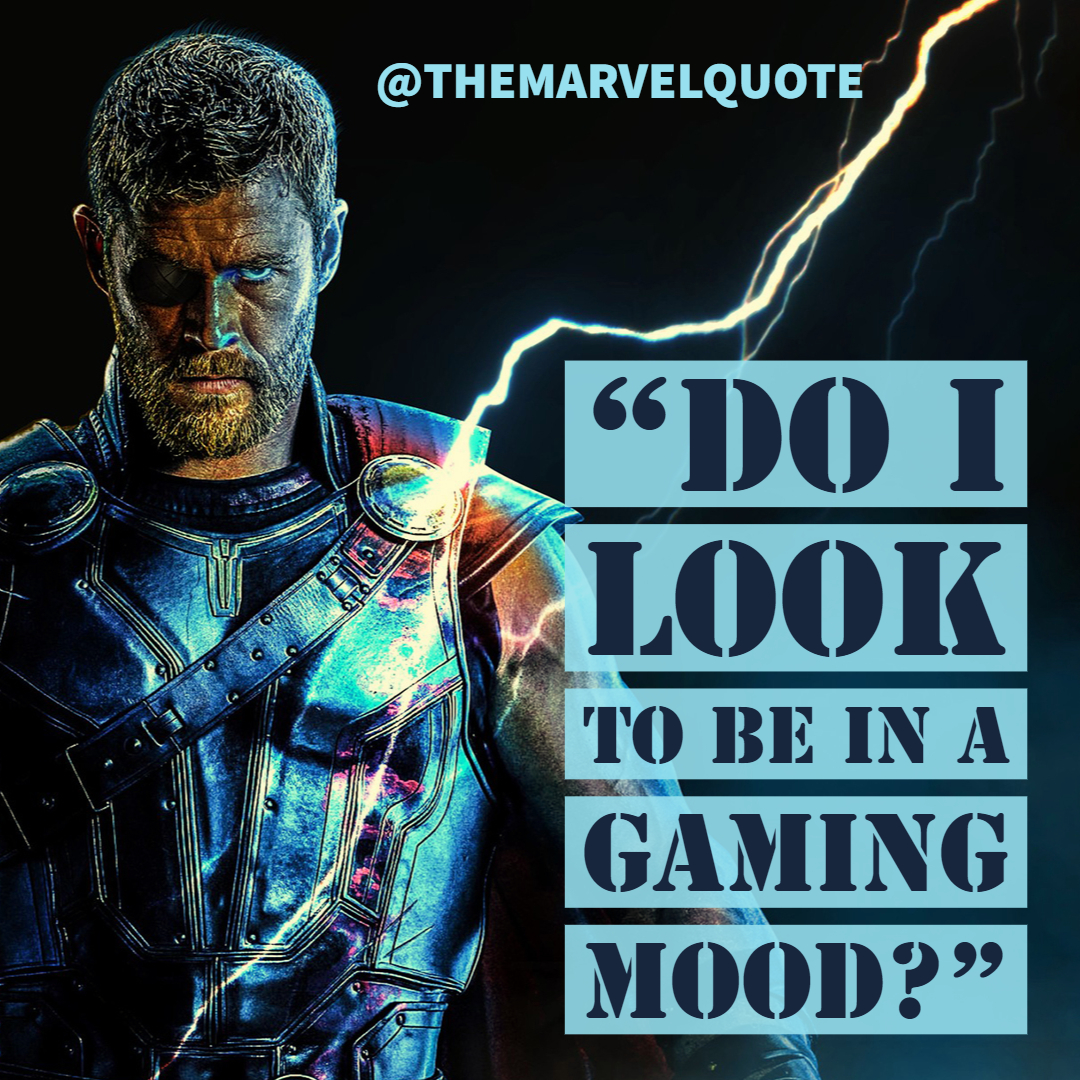 Do I look to be in a gaming mood