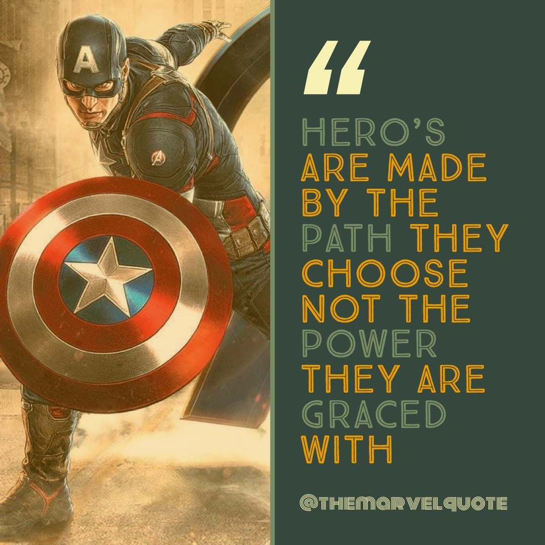 Hero Are Made By the Path
