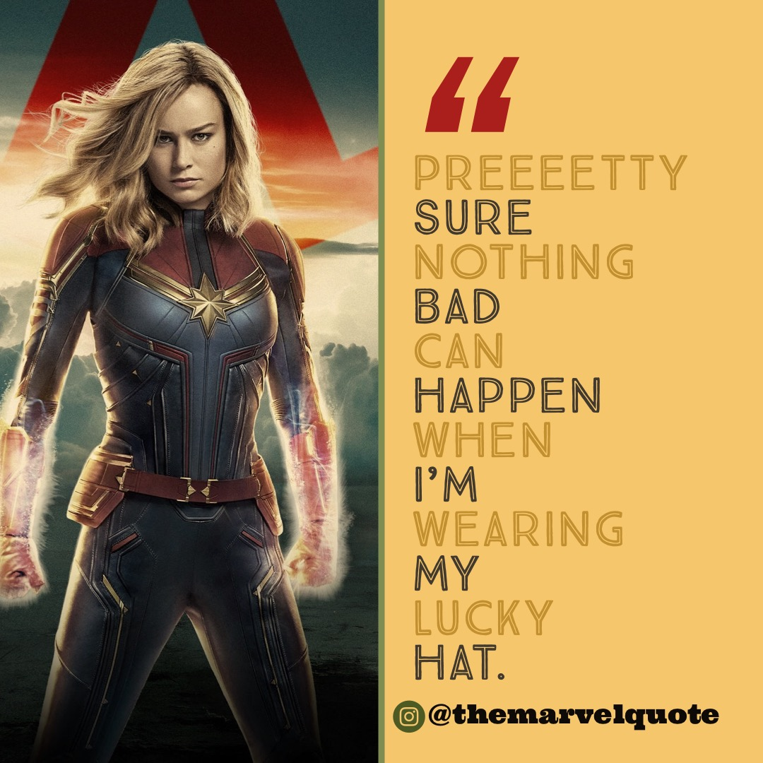 captain marvel archives - marvel quotes