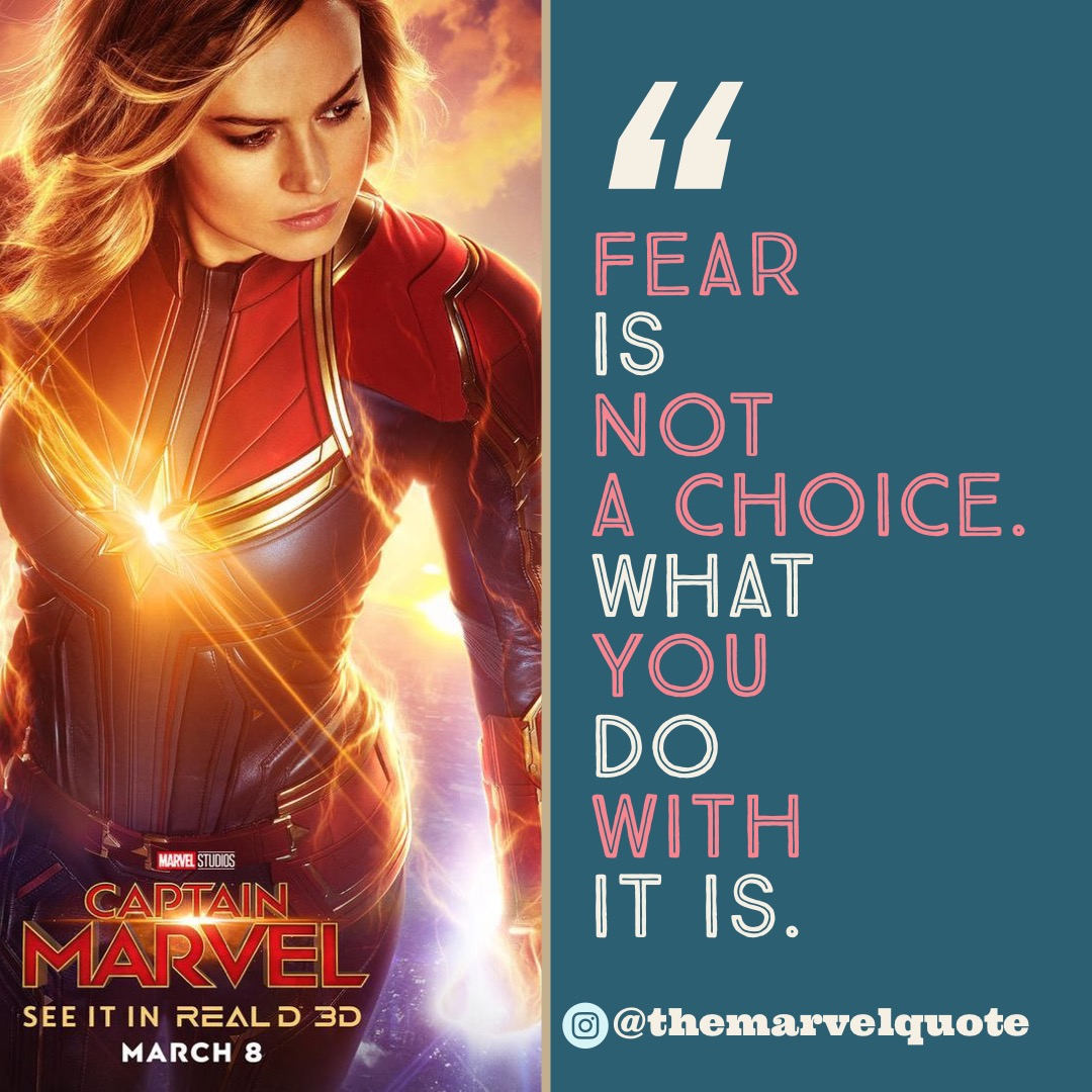 Fear Is Not Choice
