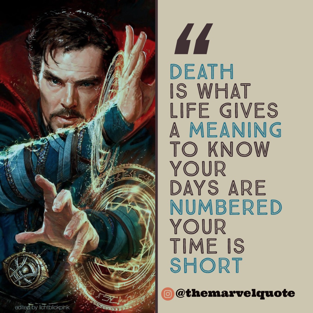 Death Is what life gives meaning