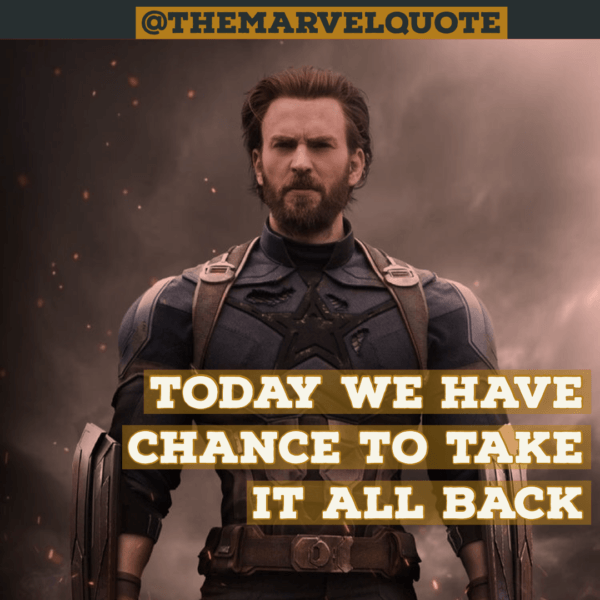 Today we have Chance to take it all back
