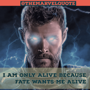I am Only Alive Because fate wants me Alive