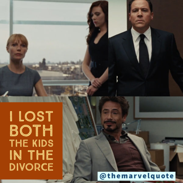I Lost both kids in divorce ironman quotes