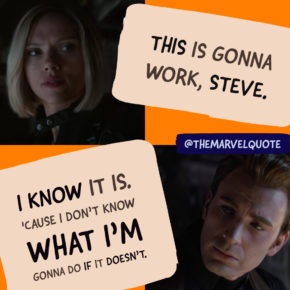 This Is Gonna Work Steve | Avengers Endgame Quote