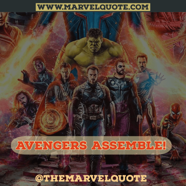 Avengers Endgame Marvel Quotes